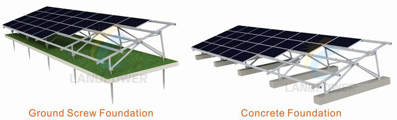 ground screw solar ground mounting